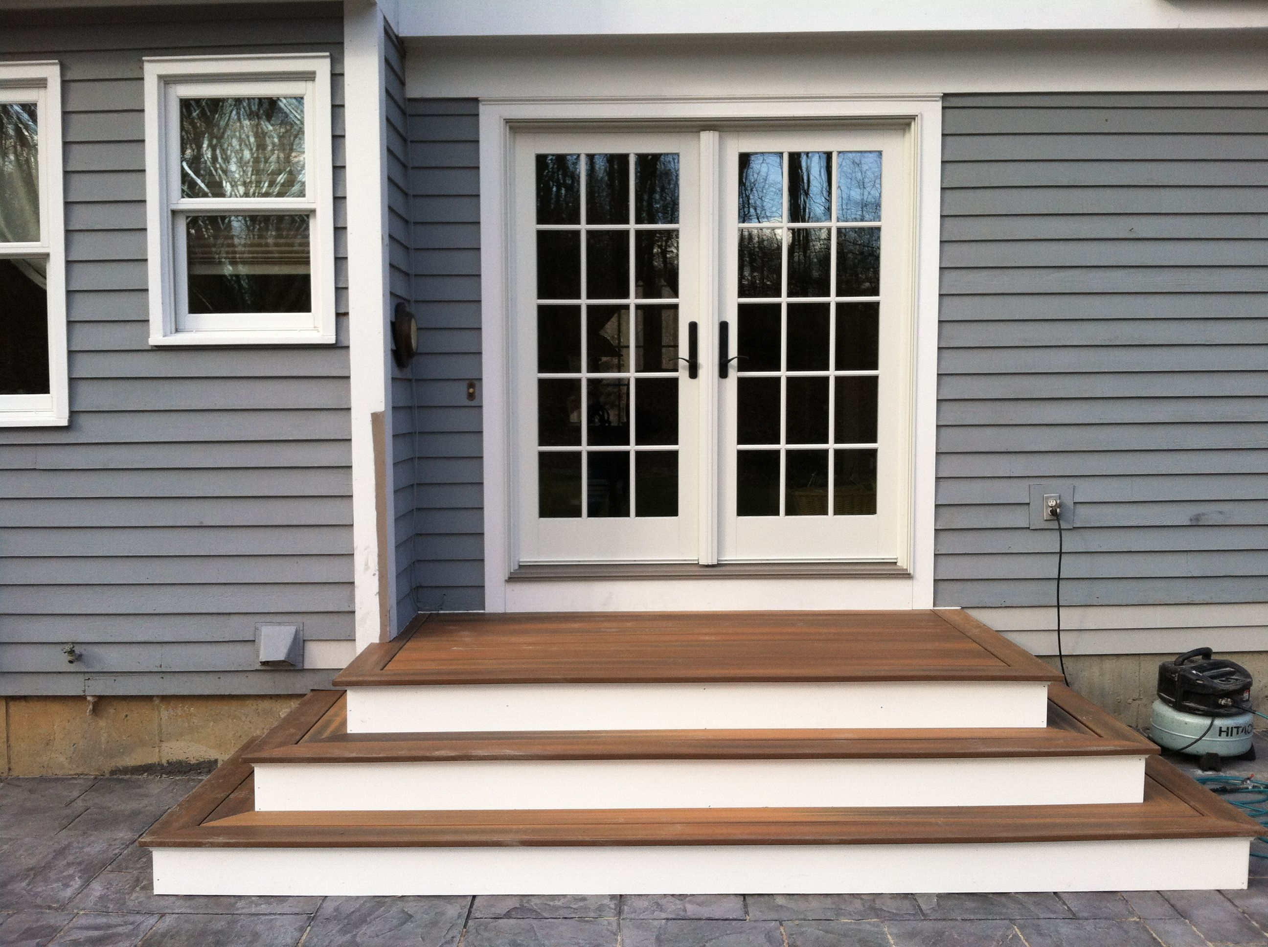 Small Deck Landing Porches Decks Patios Projects To Try Pinterest Deck Patio Porch And Decking