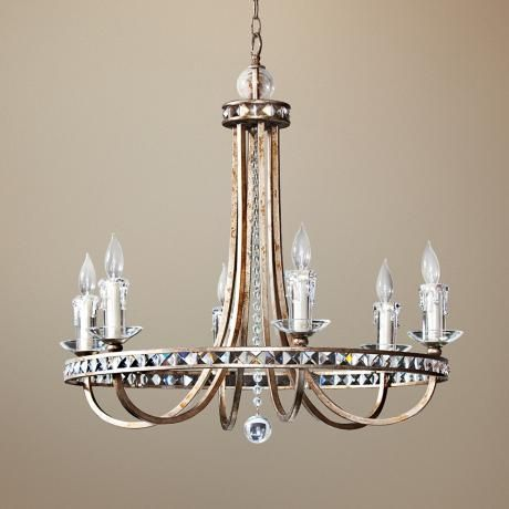 Candice Olson Aristocrat 6 Light Chandelier Sarahkrepp This Looks Familiar