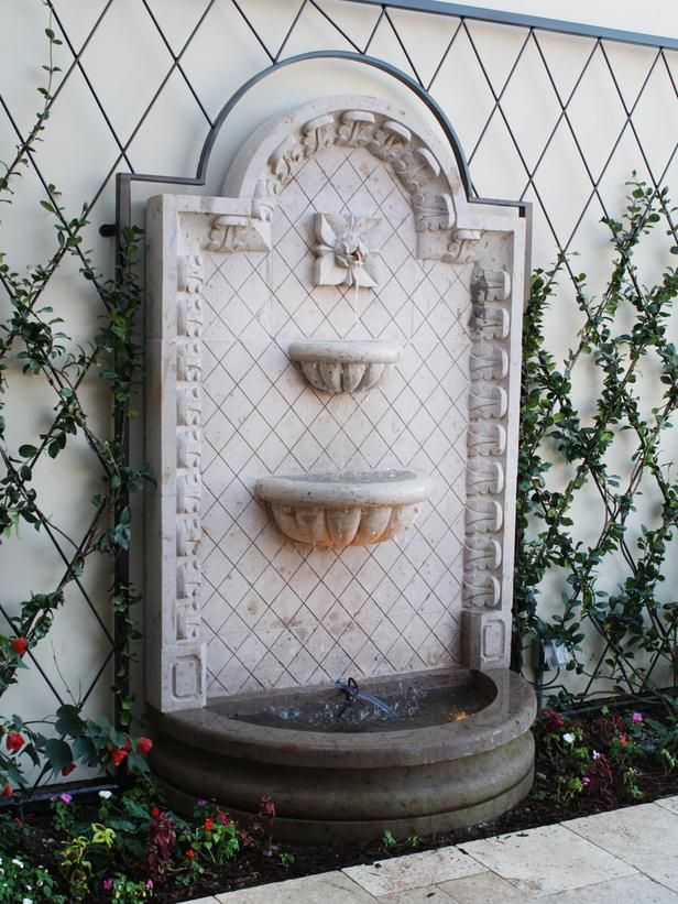 30 Amazing Outdoor Water Wall Design Ideas Wall Fountains Note