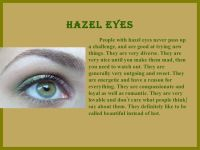 What Does Your Eye Color Say About You | Facts | Pinterest ...