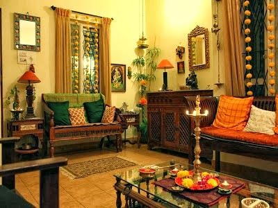 Traditional Indian Themed Living Room Every Individual Accessory
