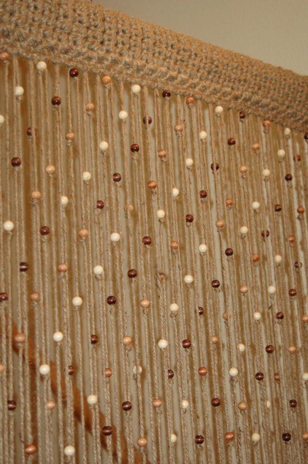 Wooden Wood Door Beads Beaded Curtains