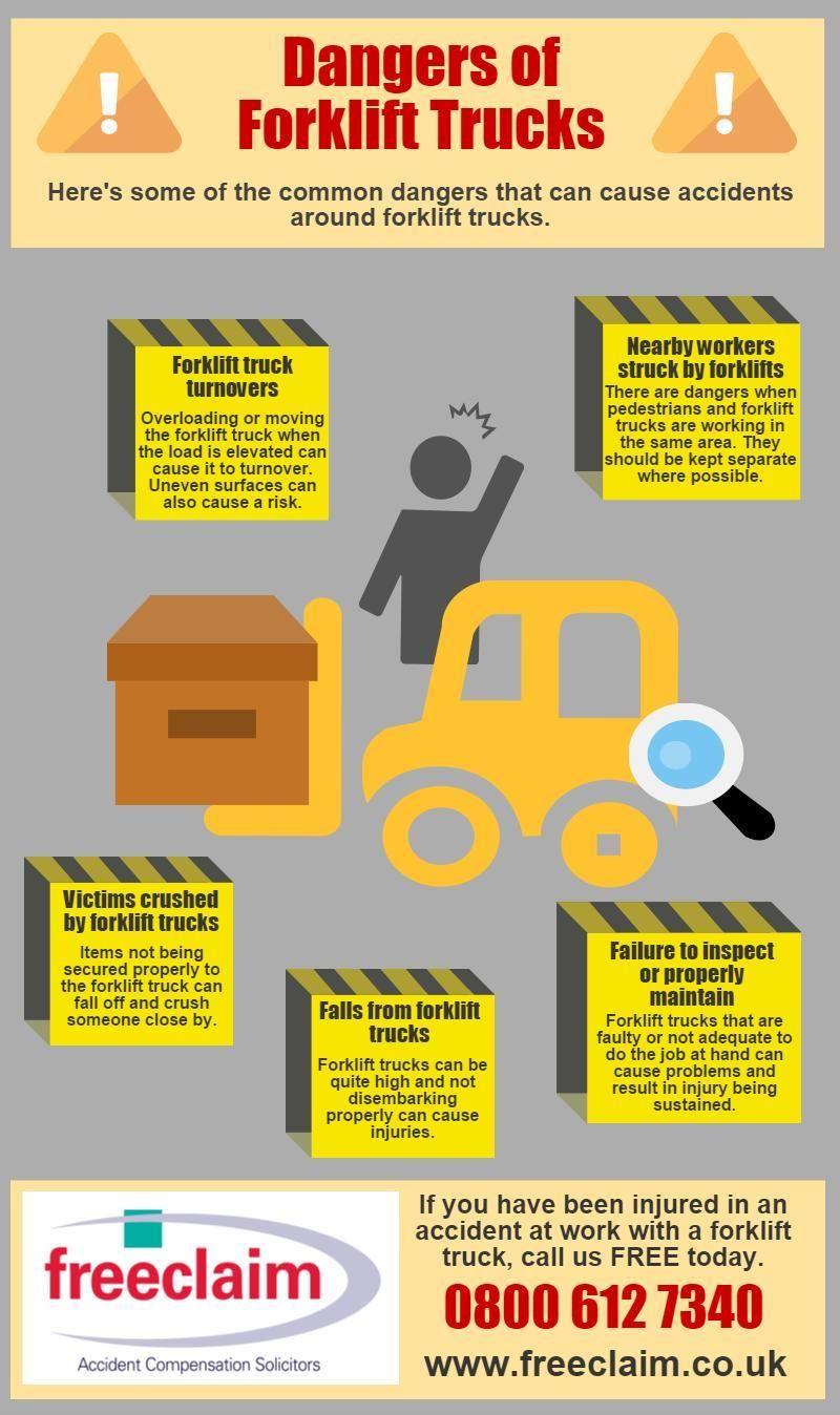 Dangers of forklifts infographic 8 forklift safety