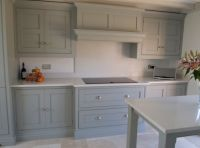 Tom Howley kitchen, extractor canopy with Neff induction ...