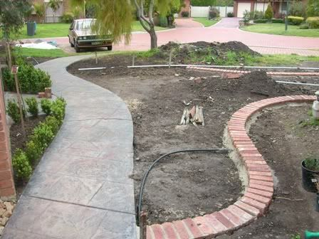 Brick Edgers Thread Brick Garden Edging Gardening Pinterest