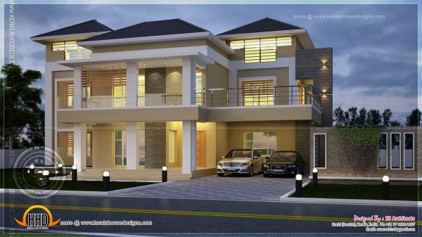 Modern Villa Elevation
