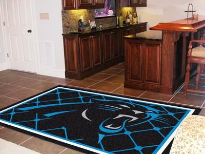 New fanmats fan carolina panthers team  foot area rug floor decor also rh pinterest