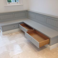 Bench Seating For Kitchen Little Helper Stool Tom Howley Seat With Storage Draws Banquettes
