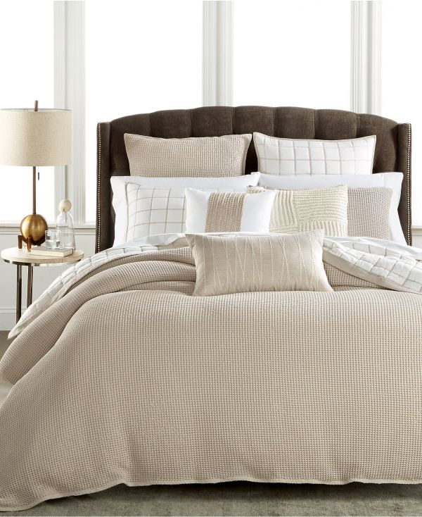 Hotel Collection Waffle Weave Bedding Created Macy' Collections
