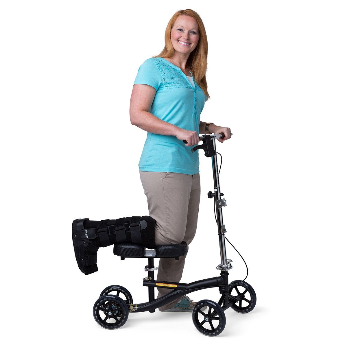 Scooter Instead Crutches