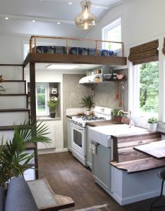 Handcrafted movement tiny house also living pinterest rh