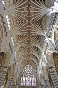 Vaulted Ceiling -Church St Peter- Exeter Cathedral (Devon ...