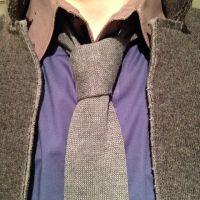 Nice loose four in hand knit tie necktie knot | Ties ...