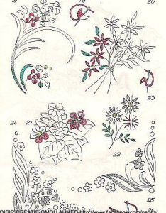 New embroidery designes needle crafts also  manual of worsted work knitting pinterest rh