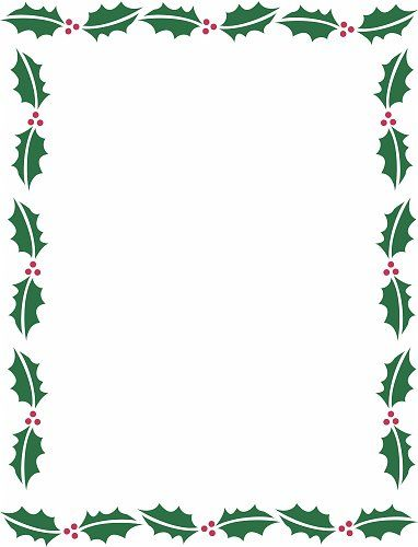 holiday borders microsoft word