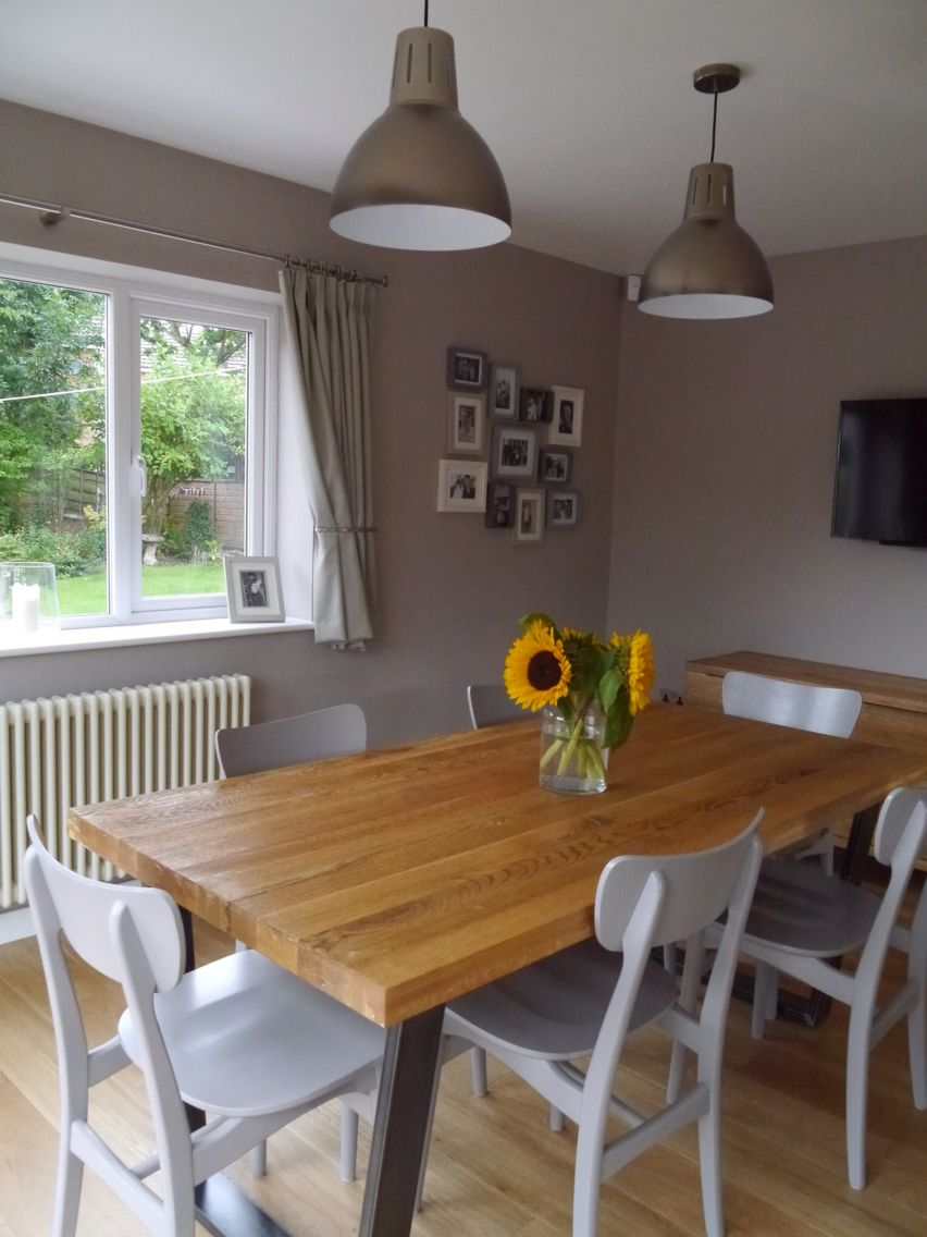 My New Kitchendining Room John Lewis Hampton Silver