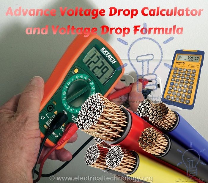 Formula For Voltage Drop In A Parallel Circuit