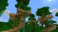 Cool Tree Houses In Minecraft Inspiration Ideas 2725 ...
