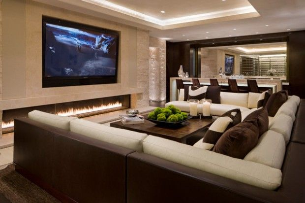 Home Design Two Tones Bonus Rooms And Fireplaces