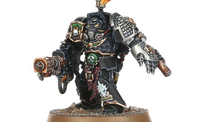 Garran Branatar Salamander Terminator Deathwatch