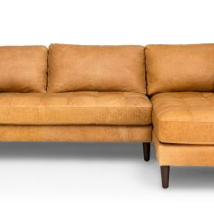 Tan Furniture Sofa New Covers Uk Sven Charme Right Sectional Sectionals