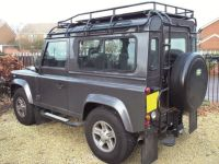Land Rover Defender 90 Safety Devices G4 Expedition roof ...