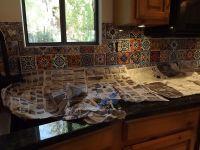 Mexican Tile Kitchen Backsplash DIY | How to do stuff ...