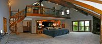 That is definitely one huge master bedroom.. | Stylish Bed ...
