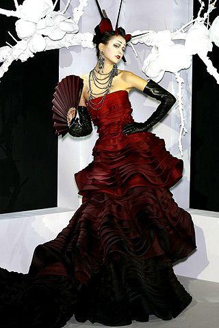 moulin rouge wedding dress gullu  FrenchMoulin Rouge