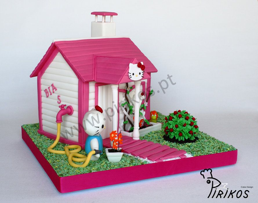 Kitty's House By Pirikos Cake Design CakesDecor Com Cake