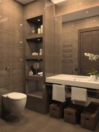 49 Relaxing Bathroom Design and Cool Bathroom Ideas ...