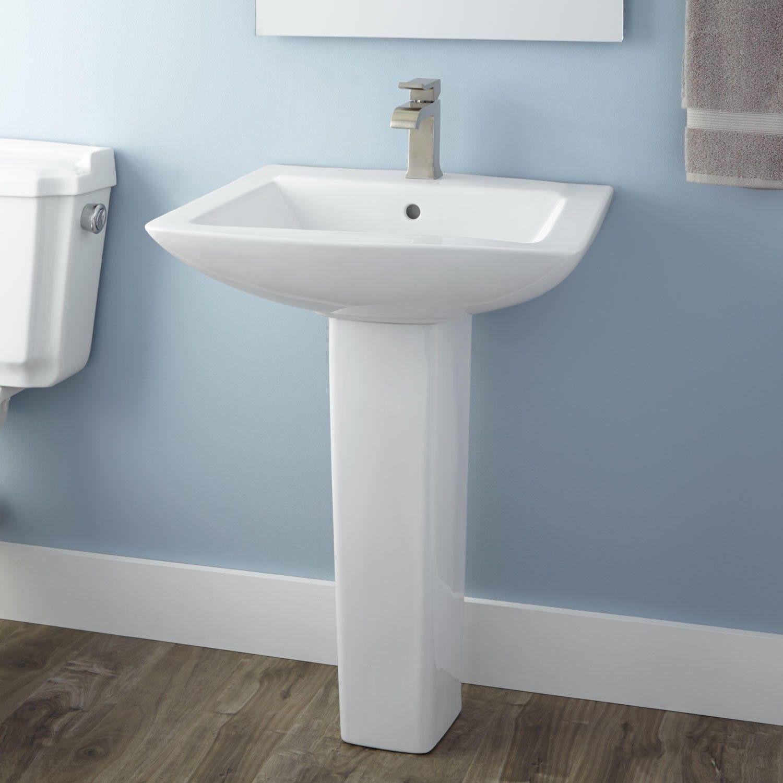 Darby Pedestal Sink  Bathrooms  Pinterest  Pedestal