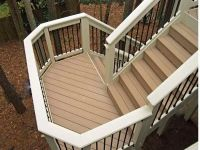 How to Build Deck Stairs with a Landing | Ferodoor | back ...