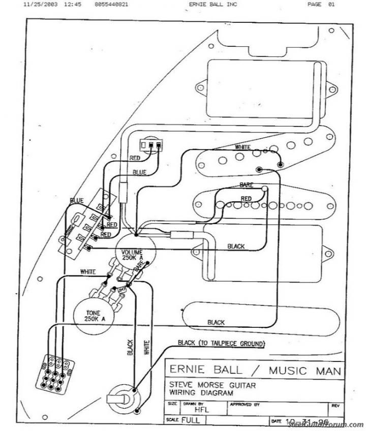steve morse wiring diagram