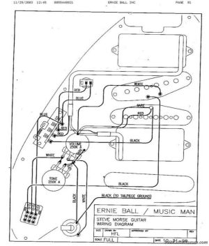 Steve Morse Wiring   Luthieria   Pinterest   Guitars, Bass amps and Bass