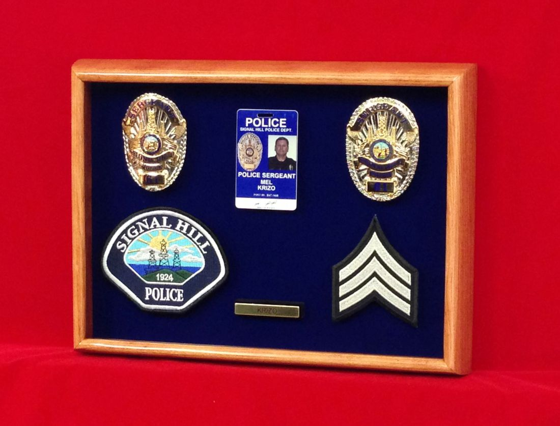 Another police retirement gift made by