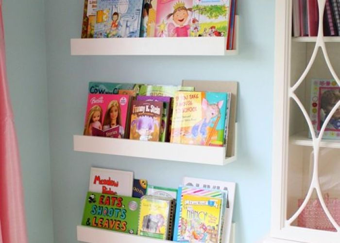 Wall bookshelves for kids room ideas also lving wood nails labor that   ve done completely by myself needless