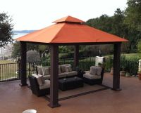 Wood Gazebos and Canopies | ... Outdoor Canopies  Fixed ...
