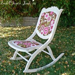 Old Fold Up Rocking Chair Rocker X Idea For My Antique Folding Refurbished