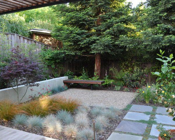 Giant Pine Tree Garden Patio Design MoH Garden Pinterest