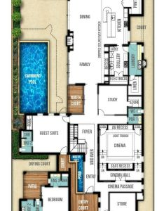 Two storey house designs featuring separate granny flat also awesome st floor with  few modifications plans rh pinterest