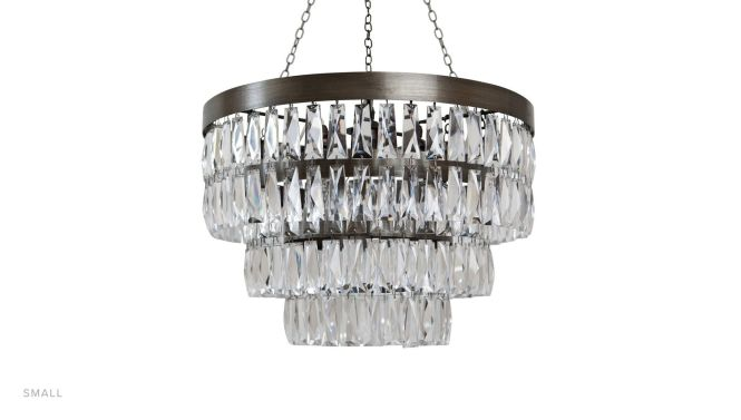 Bedroom Linear Chandelier Beaded Small Crystal Modern Chandeliers For Living Room Chain