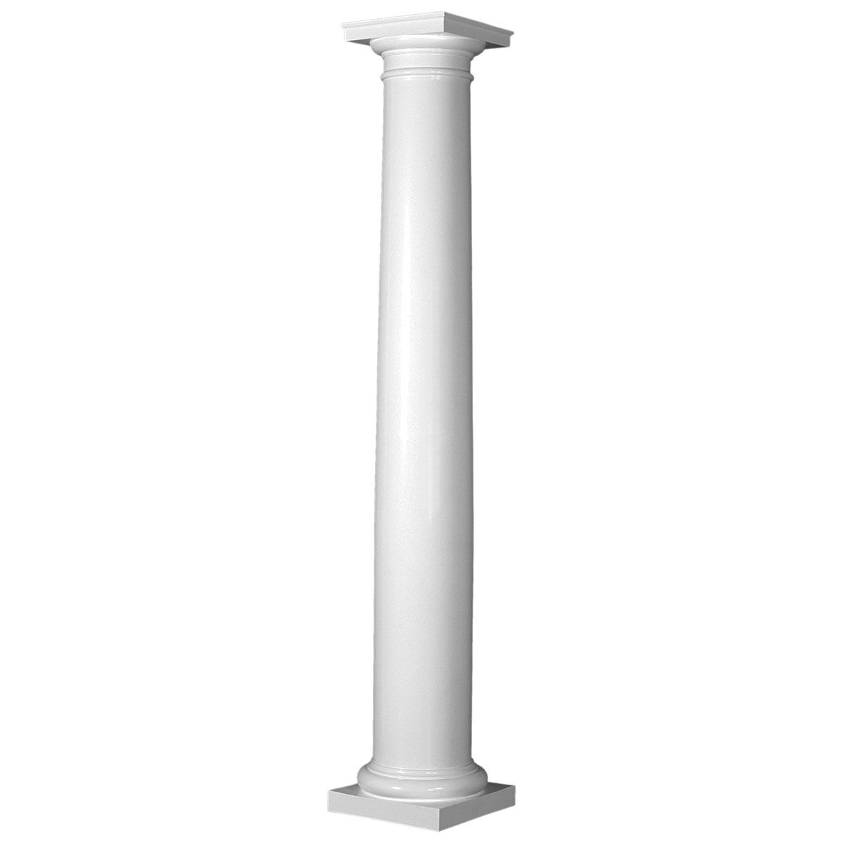 Turncraft Poly Classic Column Round Shaft Tapered Smooth