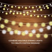 String Lights Clipart - Christmas Lights - Fairy Lights ...