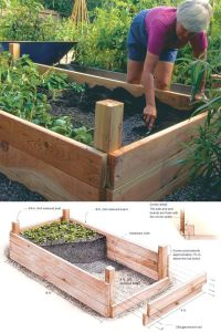 20 Amazing DIY Raised Bed Gardens | Gardens, Raised beds ...