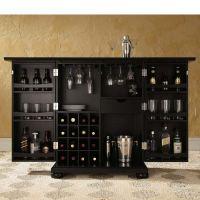 Alexandria Expandable Home Bar Liquor Cabinet- china hutch ...