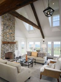 Remarkable Vaulted Ceiling decorating ideas for Delightful ...