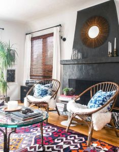 best bohemian decorating ideas domino also boho rooms with too many prints in  good way famous rh pinterest