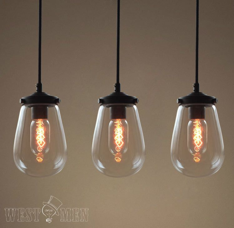 2014 Hot sales crystal pendant lights modern Clear glass