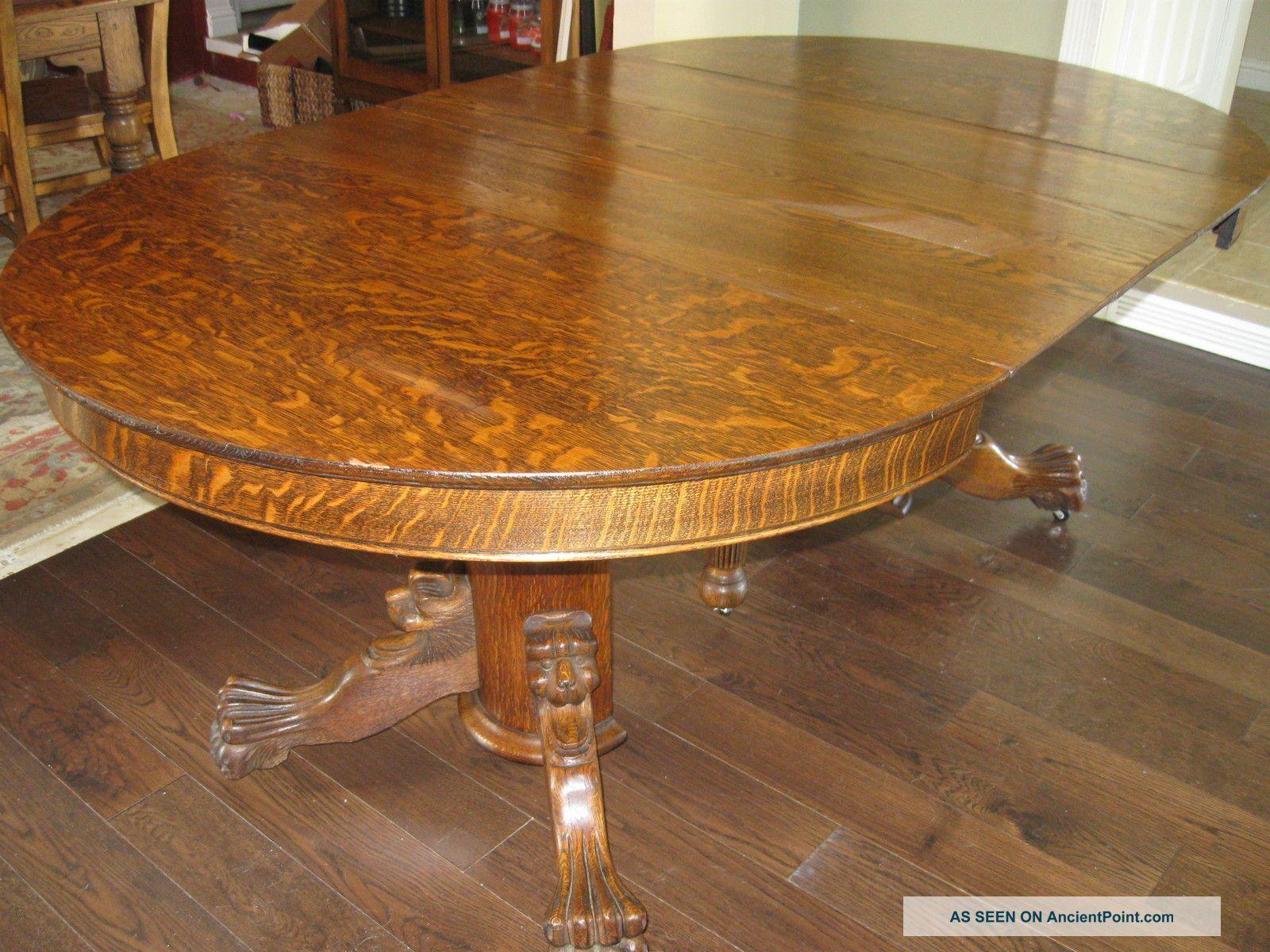 Antique Tiger Oak Furniture For Sale